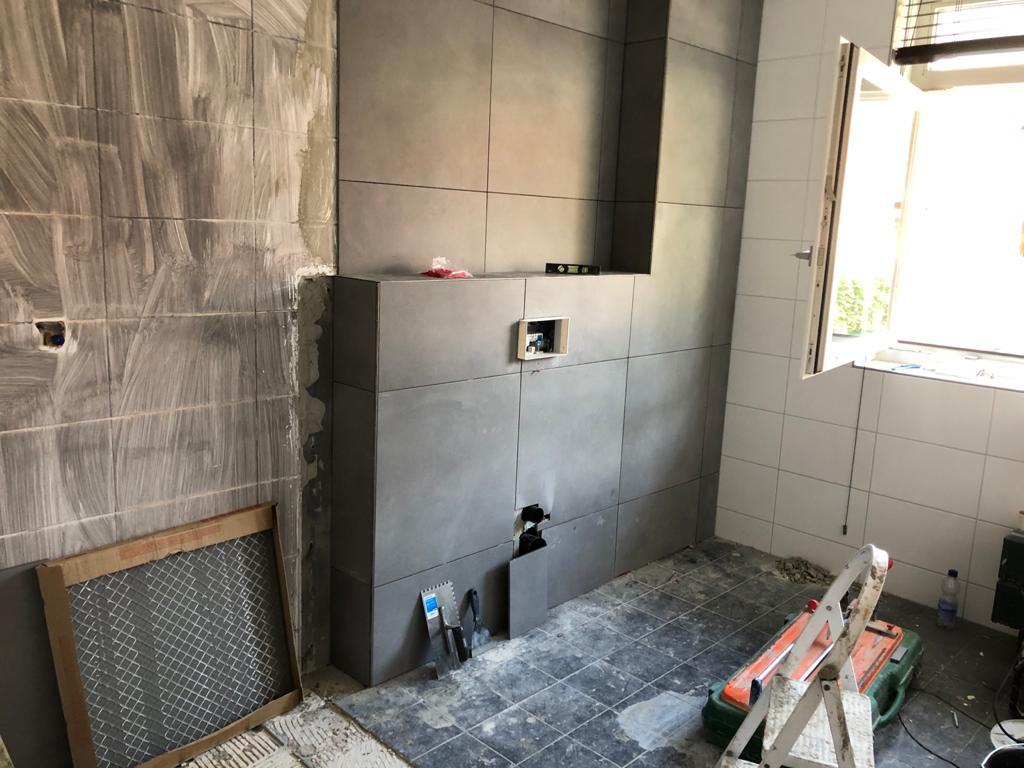 Badkamer 2-1 afgerond